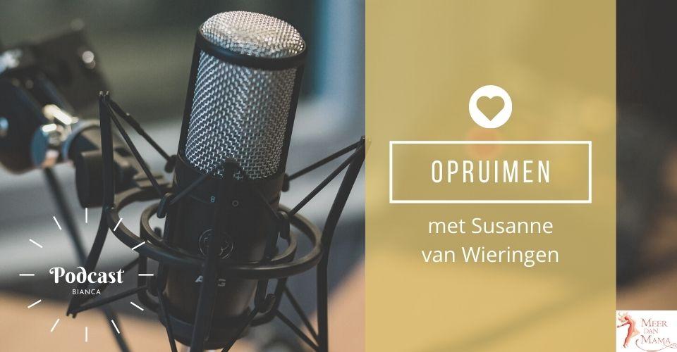 Podcast Meer dan Mama met Suzanne van Wieringen