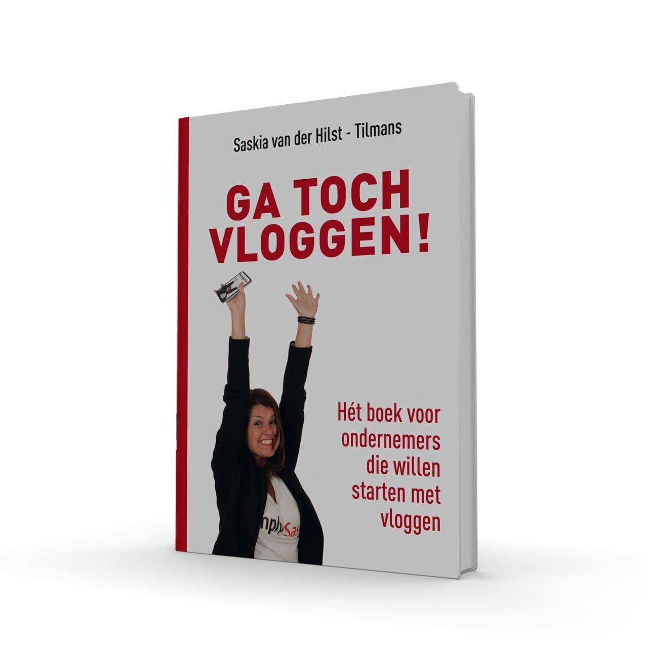Boek Ga toch Vloggen